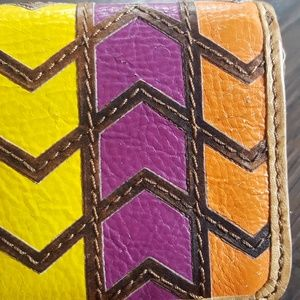 Fossil Bags - Fossil Multicolored Leather wallet